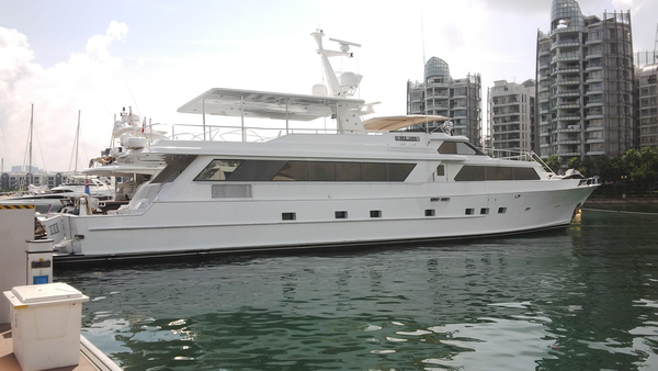 Used Denison Raised Bridge Cockpit M.Y. Mega Yacht For Sale
