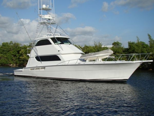 Used Hatteras 65 Convertible-Enclosed Bridge Sports Fishing Boat For Sale