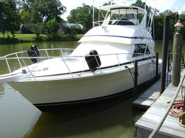 Used Bertram 43 Convertible Saltwater Fishing Boat For Sale