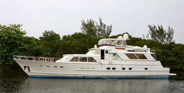 Used Burger 80' Flybridge Motoryacht Motor Yacht For Sale