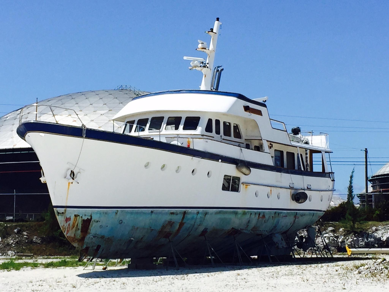 1964 used feadship classic canoe stern motor yacht for