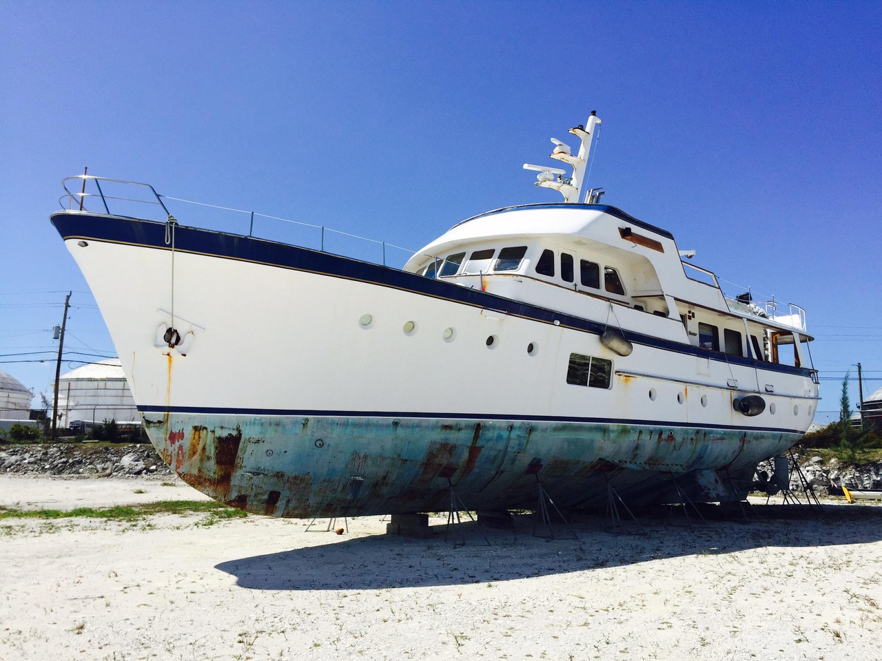 1964 used feadship classic canoe stern motor yacht for for Used motor yacht for sale