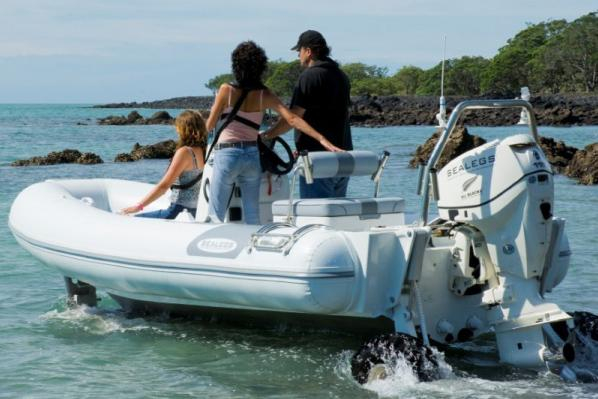 New Sealegs 6.1m Amphibious RIB Tender Boat For Sale