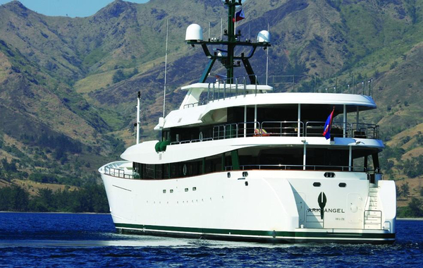 Used Mitsubishi Shimonoseki HYS Conversion Mega Yacht For Sale