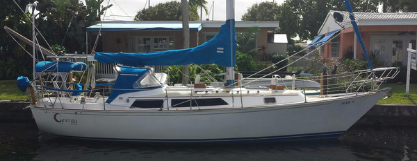 Used C&c Landfall 35 Cruiser Sailboat For Sale