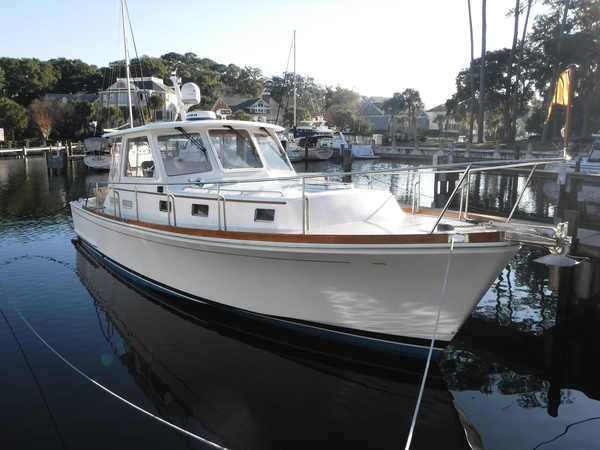 Used Grand Banks Eastbay 38 Downeast Fishing Boat For Sale