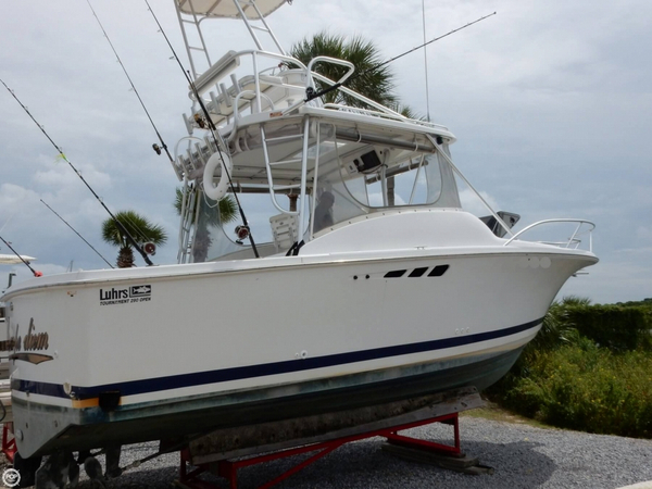 Used Luhrs 290 Open Fisherman Sports Fishing Boat For Sale