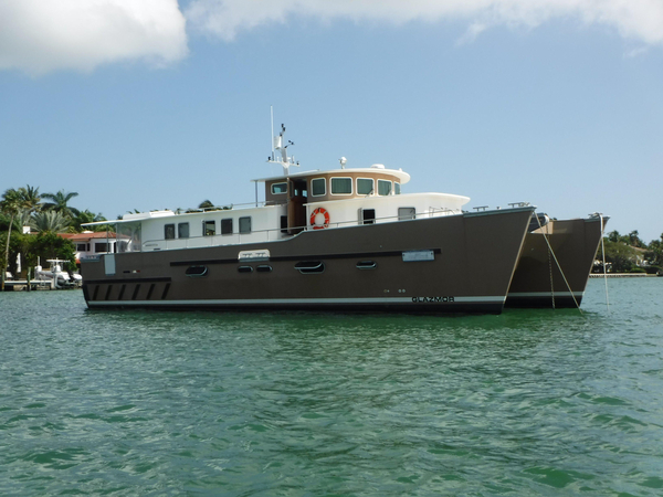 Used Fernand Herve TRAWLER CAT Power Catamaran Boat For Sale
