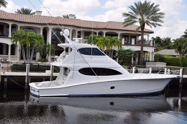 Used Hatteras 64' Enclosed Bridge SF Sports Fishing Boat For Sale
