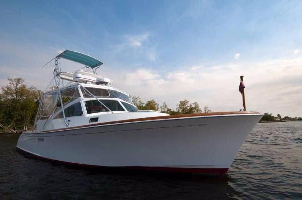 Used Hodgdon Sport Fish Sports Fishing Boat For Sale