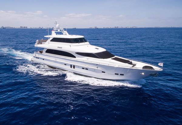 Used Horizon SKYLOUNGE MOTOR YACHT Flybridge Boat For Sale