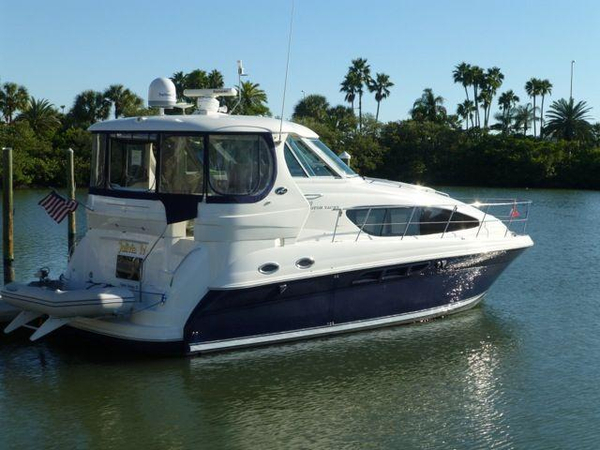 Used Sea Ray 390 Motor Yacht Aft Cabin Boat For Sale