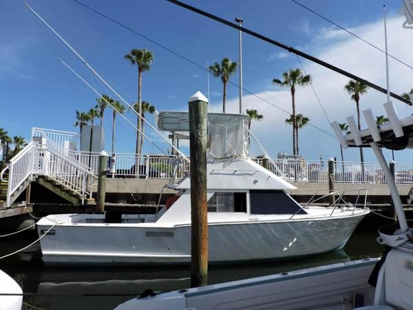 Used Argosy 32 Sport Fisherman Sports Fishing Boat For Sale