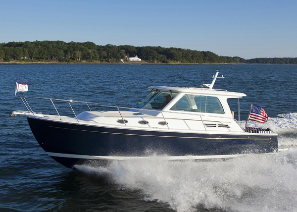 Used Back Cove 34 Downeast Fishing Boat For Sale