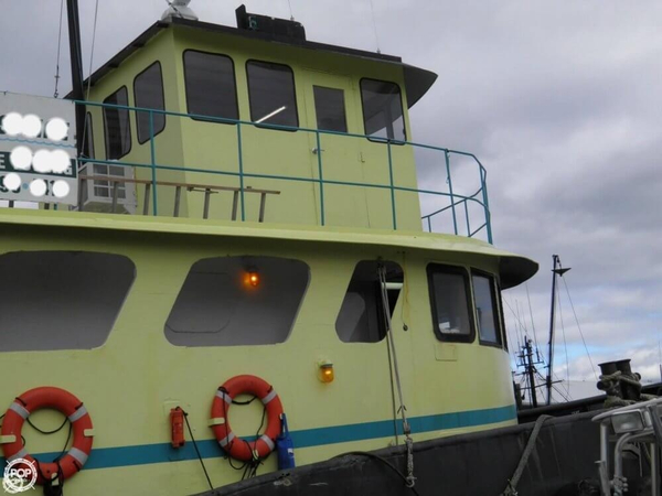 Used Universal Ironworks 94 Tug Boat For Sale