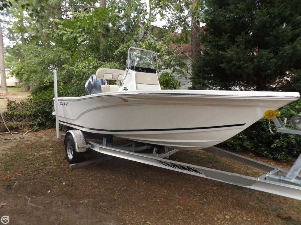 2016 used sea fox 180 viper center console fishing boat for Used center console fishing boats for sale