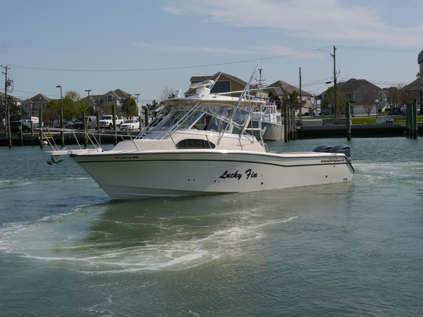 Used Grady White 300 Marlin Express Cruiser Boat For Sale