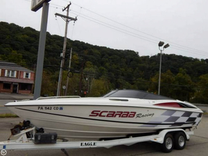 Used Wellcraft Scarab 26 High Performance Boat For Sale