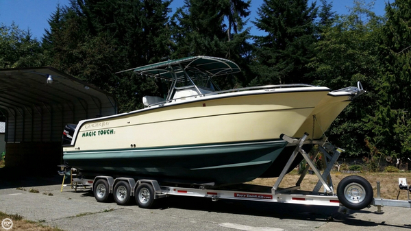 Used Glacier Bay 3065 Canyon Runner Power Catamaran Boat For Sale