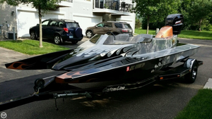 Used Vicious Tunnel Hull 18 High Performance Boat For Sale