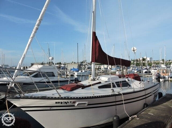Used Lancer Boats 27 PS Sloop Sailboat For Sale