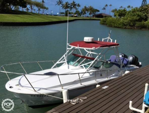 Used Boston Whaler 2500 Temptation Limited Edition Walkaround Fishing Boat For Sale