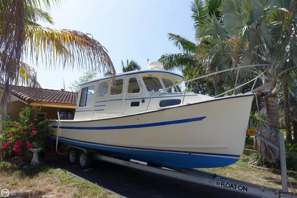Used Rosborough RF-246 Trawler Boat For Sale