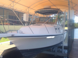 Used Shamrock 260 Express Walkaround Fishing Boat For Sale