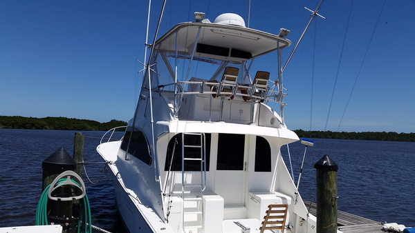 Used Post Sport Fisherman Saltwater Fishing Boat For Sale
