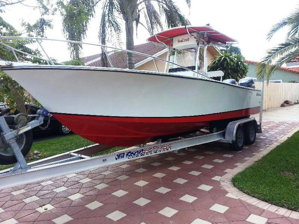 Used Sea Craft Open Fisherman Center Console Fishing Boat For Sale