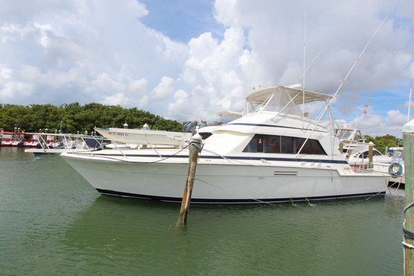 Used Bertram Sport Fishing Sports Fishing Boat For Sale