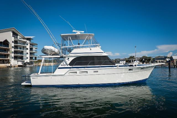 Used Bertram Flybridge Cruiser Convertible Fishing Boat For Sale