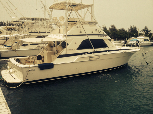 Used Bertram 37 Sport Fisherman Sports Fishing Boat For Sale