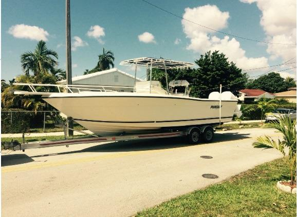 Used Pursuit 2550 CC Center Console Fishing Boat For Sale