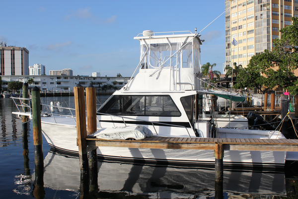 Used Fitz 41 Sportfish Sports Fishing Boat For Sale