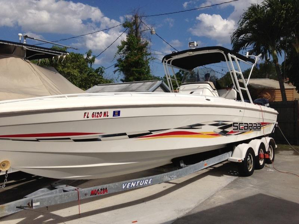 Used Wellcraft 302 Scarab Sport Cuddy Cabin Boat For Sale