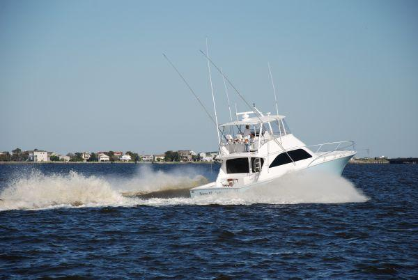 Used Viking Yachts Convertible Fishing Boat For Sale