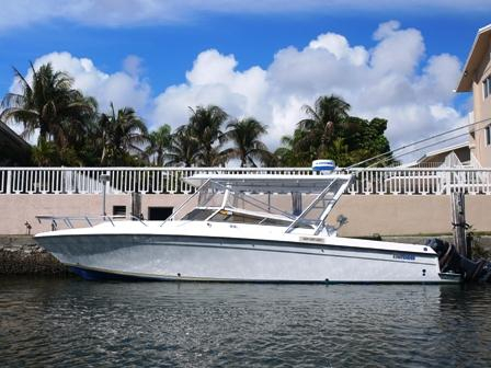 Used Contender Express Saltwater Fishing Boat For Sale