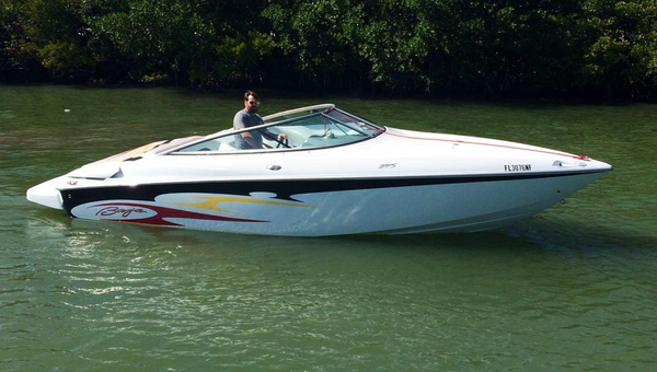 Used Baja 245 35 Anniversary Express Cruiser Boat For Sale