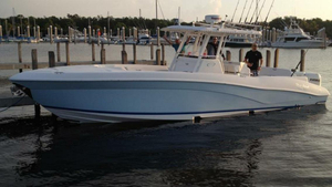 Used Deep Impact Open Center Console Fishing Boat For Sale