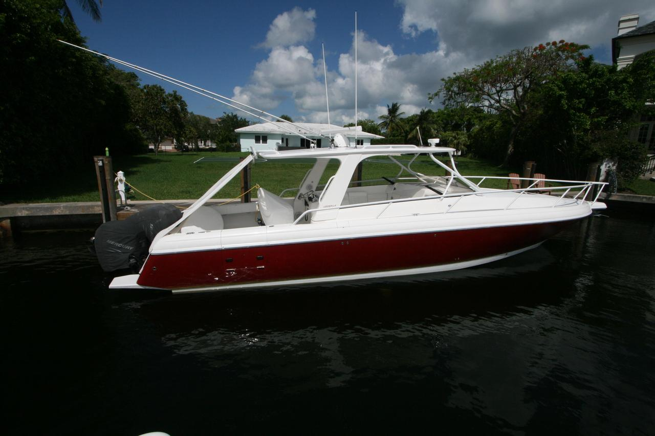2008 used intrepid center console fishing boat for sale for Used fishing boats for sale in florida