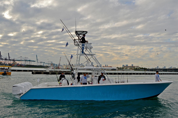 Used Seahunter Center Console Fishing Boat For Sale