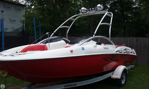 Used Yamaha AR210 Ski and Wakeboard Boat For Sale