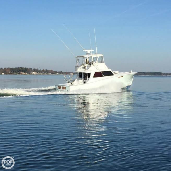 Used Custom Carolina Rose Brothers 42 Sports Fishing Boat For Sale