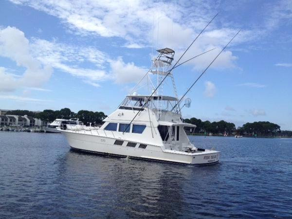 1988 used hatteras sportfish convertible fishing boat for for Hatteras fishing boat
