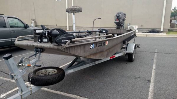 Used Gator Tail 1754 Extreme Aluminum Fishing Boat For Sale