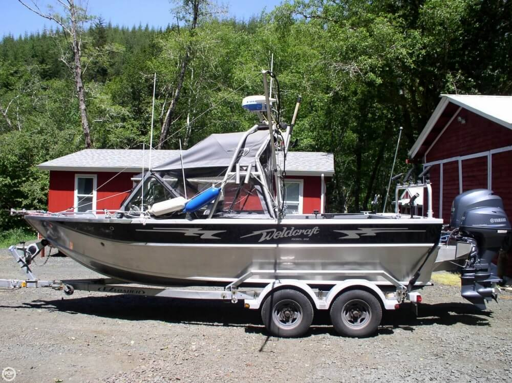 2012 used weldcraft 202 rebel aluminum fishing boat for for Aluminum fishing boats