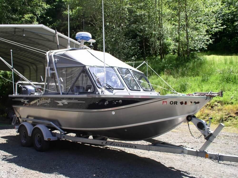 2012 used weldcraft 202 rebel aluminum fishing boat for