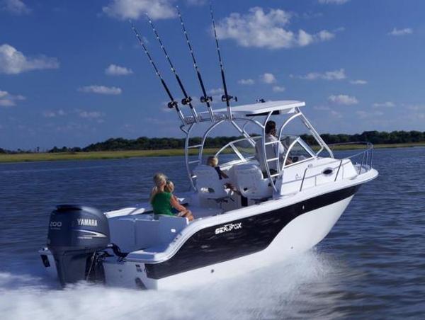 Used Sea Fox 236WA Pro Series Cuddy Cabin Boat For Sale