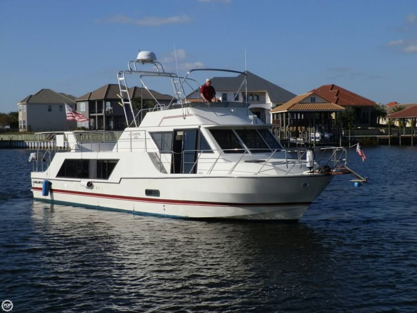 Used Harbor Master 52 Coastal 520 House Boat For Sale